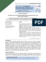 THE PREDICTIVE FACTORS OF THE CARDIOVASCULAR INFRINGEMENT IN THE RHEUMATOID ARTHRITIS
