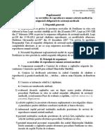 Regulamentul cu privire la fertilizarea in vitro în baza poliței