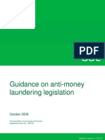 Money Laundering Guidance 2008
