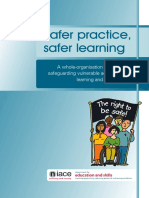 Safer Practice Safer Learning Booklet Web Copy