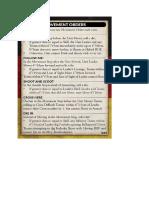Team Yankee - Unit Card - German Movement Orders