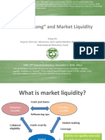 Low for Long and Market Liquidity