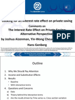 Looking for an Interest Rate Effect on Private Saving