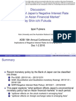 Discussion-The Impact of Japan Negative Interest Rate Policy on Asian Financial Market
