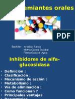 Exposición de Hipoglicemiantes Orales