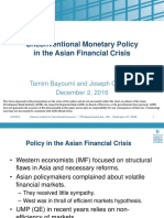 Unconventional Monetary Policy in the Asian Financial Crisis