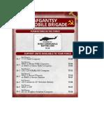 Team Yankee - Unit Card - Afgantsy Airmobile Brigade