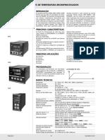 Controlador Temp. FHMD 48x48 Queimador