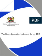 Kenya Innovation Indicators Survey 2015_FINAL MAY 2016