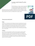 Dieta Bacteria Helico Pylori