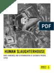 Il mattatoio del carcere siriano
