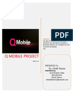 Q Mobile Project by Rohail Aslam