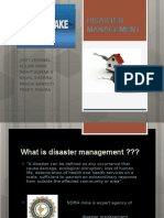 Disaster Ppt Earthquake