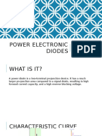 Power Electronic Diodes