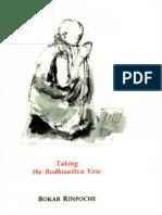 Taking the Bodhisattva Vow - Bokar Rinpoche