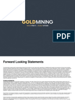 Corporate Presentation GoldMining Inc. (previously Brazil Resources Inc.)