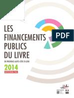 Les financements publics du livre