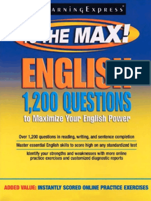 1200 Questions That Will Maximize Your English Power | Comma