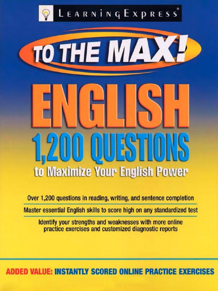 33887ee4f0eec 1200 Questions That Will Maximize Your English Power | Comma ...