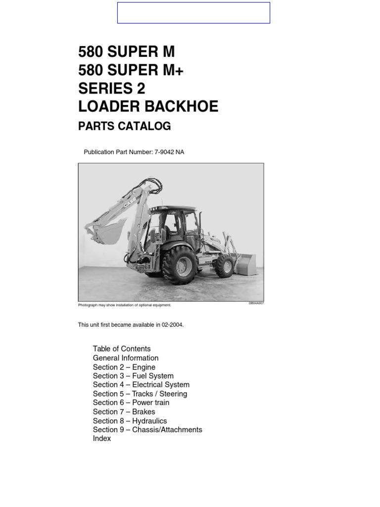 case 580 super m parts catalog(1) 580 m pdf   transmission (mechanics)    loader (equipment)