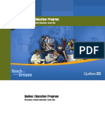 Curriculum Quebec Completo