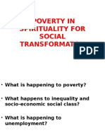 ISMM - POVERTY IN SPIRITUALITY FOR SOCIAL TRANSFORMATON.ppt