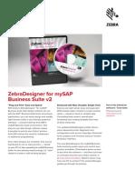Zebradesigner Mysap v2 Fact Sheet en Us Gl a4