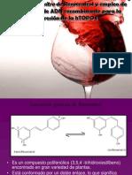 Producción In vitro de Resveratrol y empleo de Tecnologías de ADN recombinante para la expresión de la hTOPO I