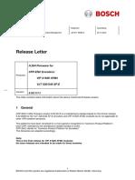 Bosch Releaseletter CPP-EnC H.264 FW 5.52.0015