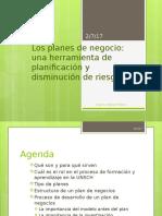 Diseño de Planes de Negocio