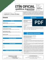 Boletín Oficial de la República Argentina, Número 33.561. 07 de febrero de 2017