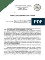 Studii Si Cercetari Privind Poluarea Apelor Cu Nutrienti - Matei Doru