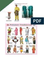 Pakaian Dan Kuih Tradisional