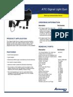 AstronicsDME Signal Light Gun 051616