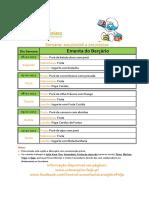 Ementa Bercario 06 a 10-02-2017