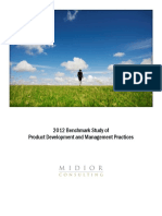 2012 Benchmark Study Product Development Management Practices