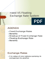 Fixed vs Floating Exchange Rate System