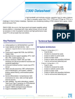 ZXA10+C300++xPON+OLT+Datasheet