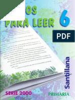 Textos para leer - 6° Básico.pdf