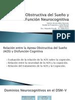 Presentacion Apnea Obstructiva Del Sueño y Función Neurocognitiva