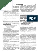 Designan Jueza Supernumeraria del 13° Juzgado Especializado en lo Contencioso Administrativo de Lima