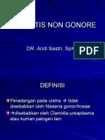 Uretritis Non Gonore
