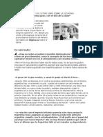 Mariano Grondona y Su Ultimo Libro Sobre La Economia