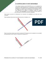 Autopiste Carrefour Plan Sans Utiliser Le Mode Multiaxe
