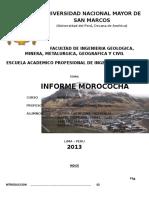 Informe de Minerologia