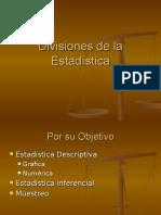 Sub Division de La Estadistica