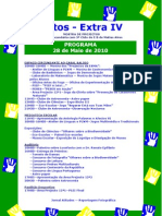 Programa Actos Extra IV 2010