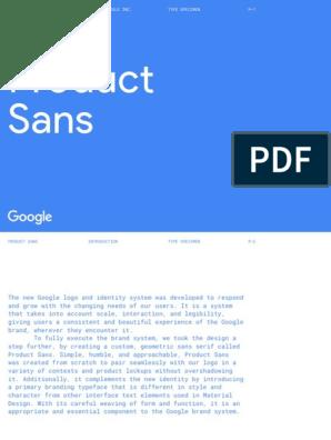Product Sans: google_logo