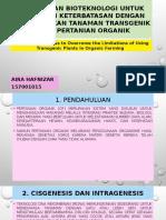 PPT Biotek Tanaman