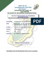 PRACTICA N°10 DETERMINACIÓN DE PROPIEDADES FISICAS DE LA MADERA